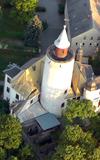 Burg Posterstein Luftaufnahme