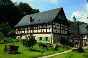 In Posterstein you find a lot of historical half-timbered houses, 'Auenhof' is one of them.In Posterstein you find a lot of historical half-timbered houses, 'Auenhof' is one of them.