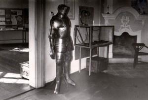 Dauerausstellung im Museum Burg Posterstein in den 1960er Jahren (Museum Burg Posterstein)