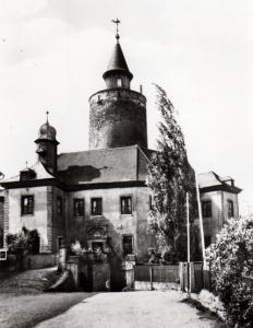 Burg Posterstein um 1970 (Museum Burg Posterstein)