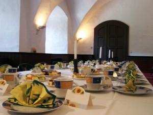 Der Burgkeller bietet Platz für rund 40 Personen.
