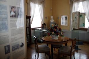 Exposition permanente du Salon de la duchesse de Courlande (Museum Burg Posterstein)