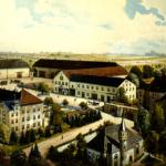 Das Rittergut Posterstein um 1900 (Museum Burg Posterstein)
