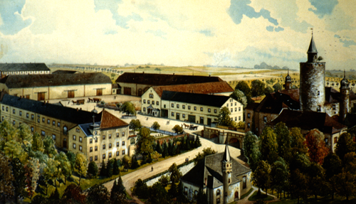 Posterstein manor around 1900 (picture: Museum Burg Posterstein)