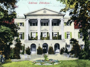 Löbichau Castle on a postcard from 1904