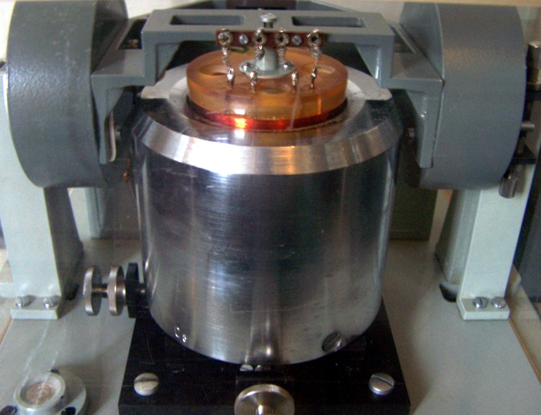 Seismometer in Posterstein
