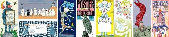Künstlerplakate: Poster auf Burg Posterstein (Museum Burg Posterstein 2008)