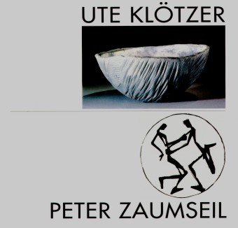 """Katalog """"Ute Klötzer - Peter Zaumseil"""" - Keramik, Holzschnitte (Museum Burg Posterstein 1997)"""