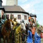 9. Spectacle médiéval au château de Posterstein