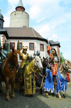 9. Mittelalterspektakel auf Burg Posterstein