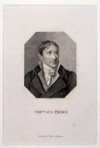 """Der Schriftsteller Christoph August Tiedge wurde 1801 durch das Erscheinen seiner """"Urania"""" populär."""