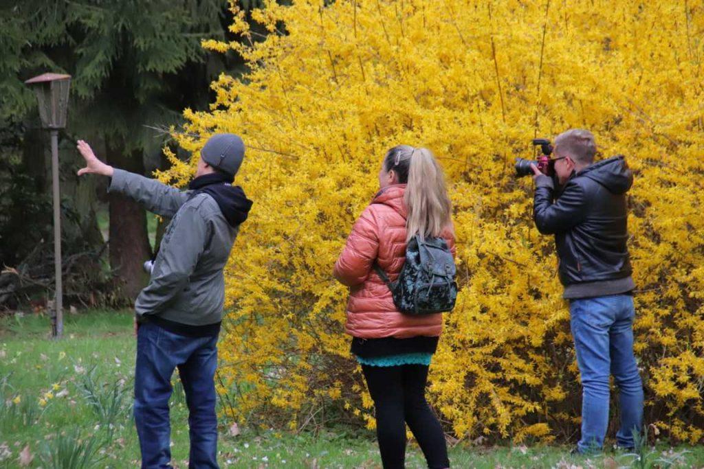 Beim Insta-Walk in Tannenfeld (Foto @b_und_p_europareisen)