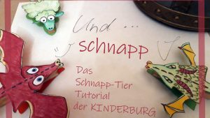 Kinderburg Tutorial Klammerschaf