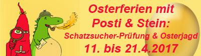 Osterferienprogramm mit Schatzsucher-Prüfung und Osterjagd