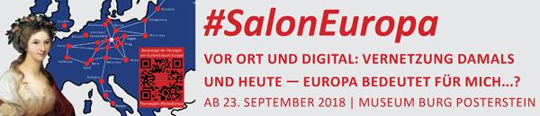 Unser Projekt #SalonEuropa vor Ort und digital