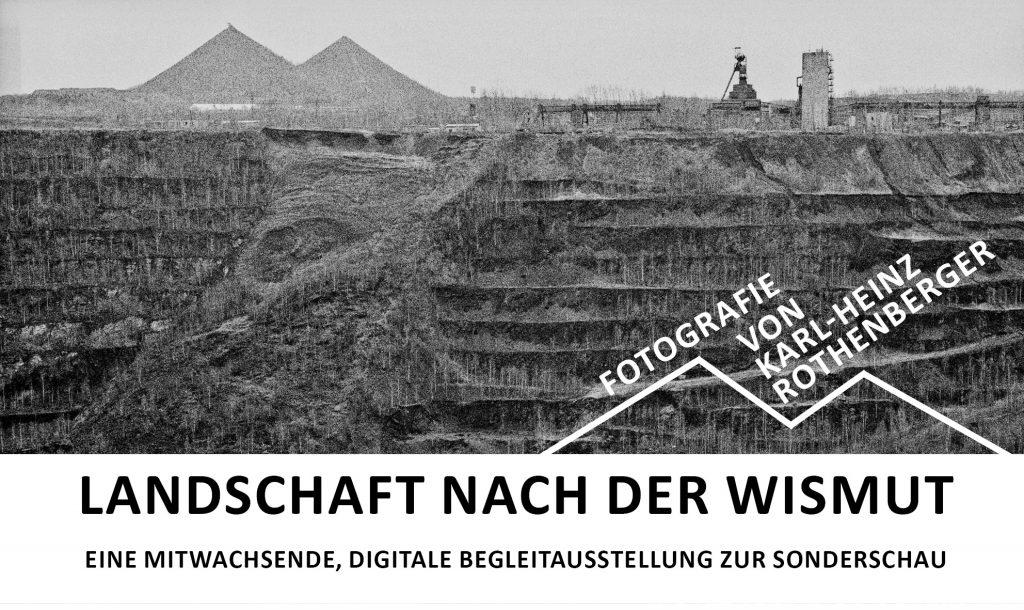 Banner Online-Ausstellung Landschaft nach der Wismut