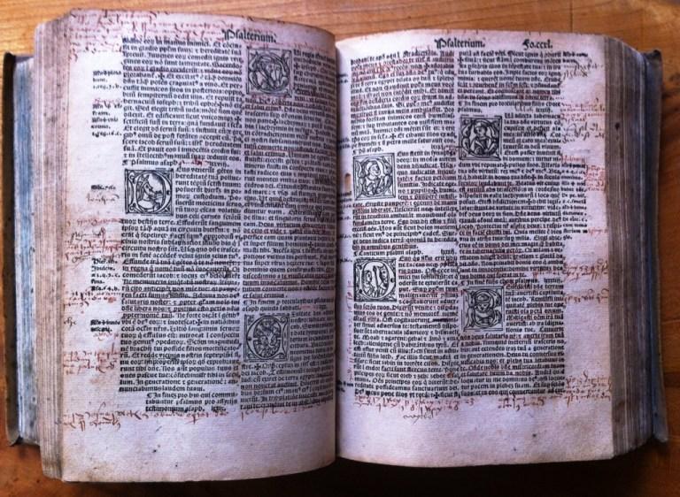Vorstellung der besonderen Exponate zur Reformationsfeier