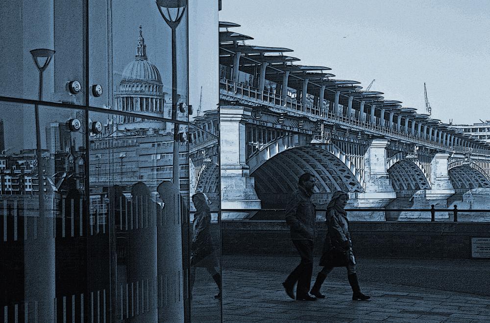 London Urban Sketches – Urbane Skizzen von London – Fotografie von Frank Rüdiger
