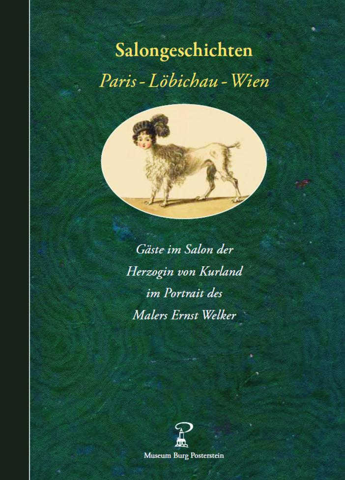 Buch zur Sammlung Welker im Museum Burg Posterstein