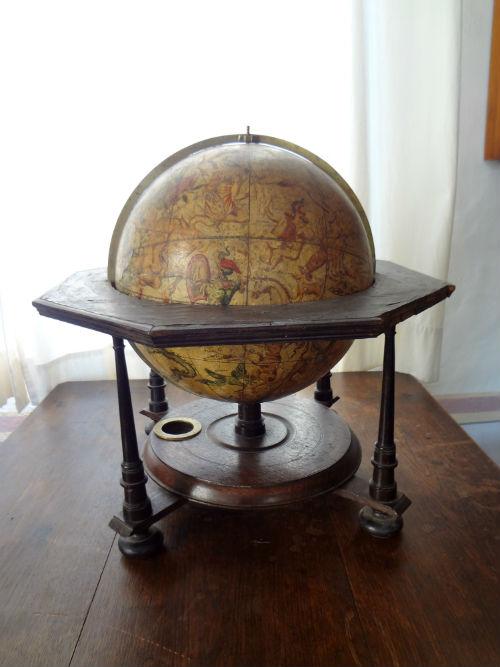 Doppelmayr Himmelsglobus aus dem 18. Jahrhundert (Museum Burg Posterstein)
