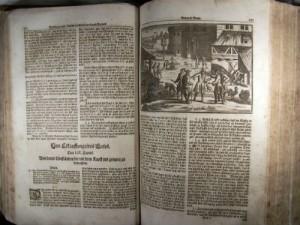 """Die """"Hausvater""""-Bücher von 1702 behandeln in enzyklopädischer Weise alle Bereiche des täglichen Lebens."""