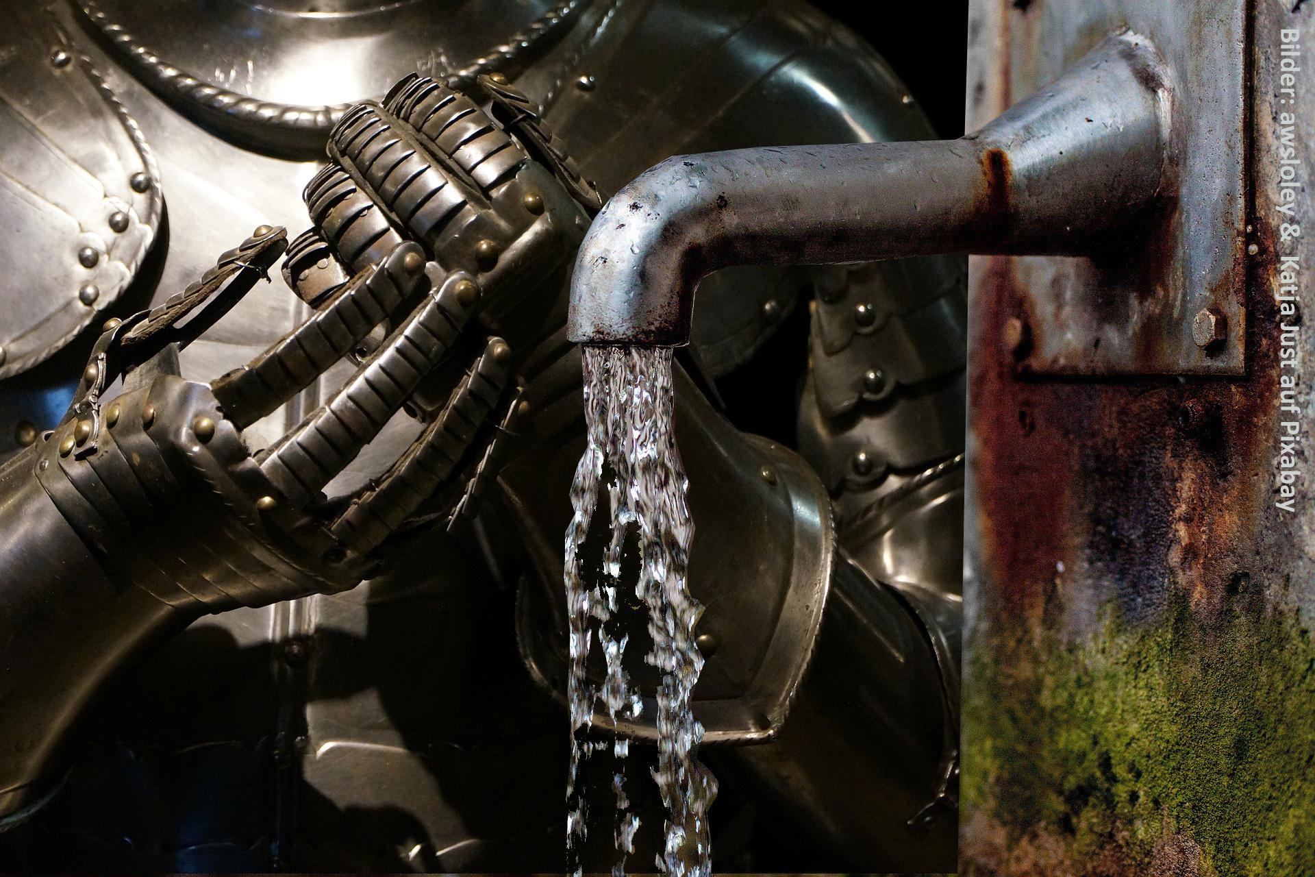 Herbstferien auf Burg Posterstein: Hatten Ritter einen Wasserhahn?