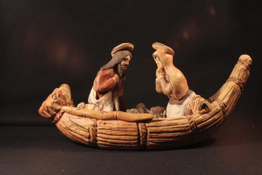 Weihnachtskrippe aus Peru - Sammlung Museum Burg Posterstein