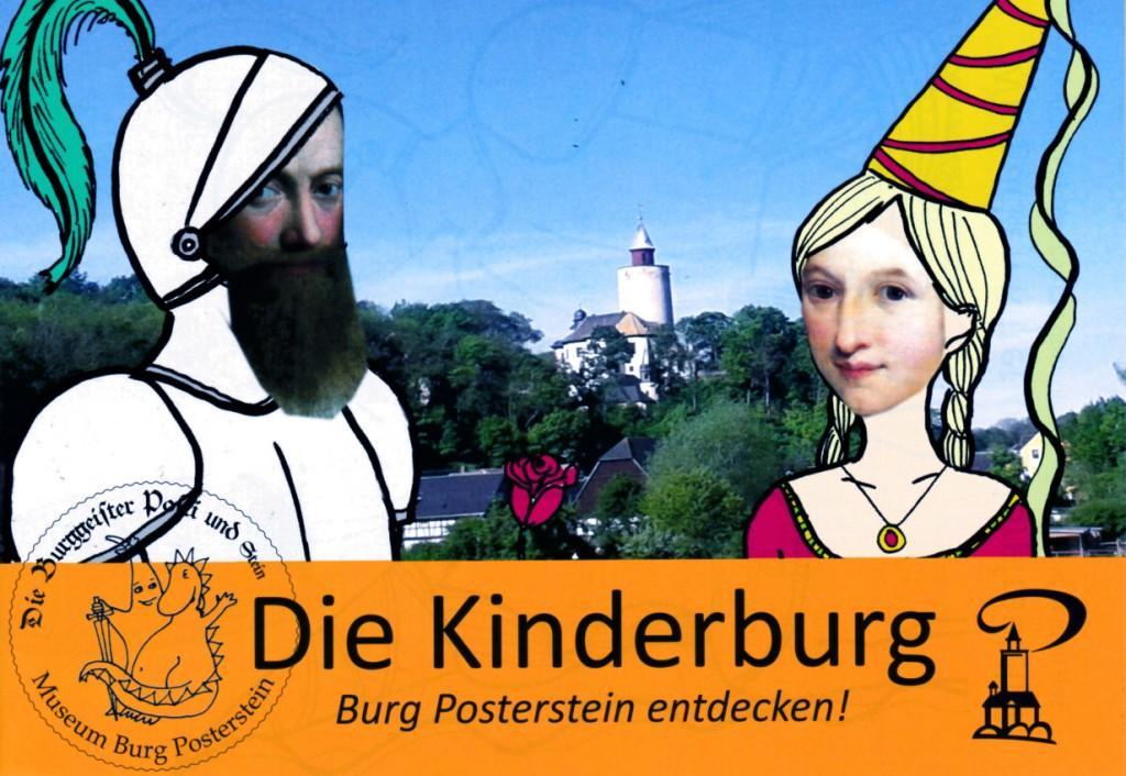 Herbstferien auf Burg Posterstein:  Warum steht die Burg auf einem Berg? Kleine Schatzsuchen und Rätseljagd für Familien
