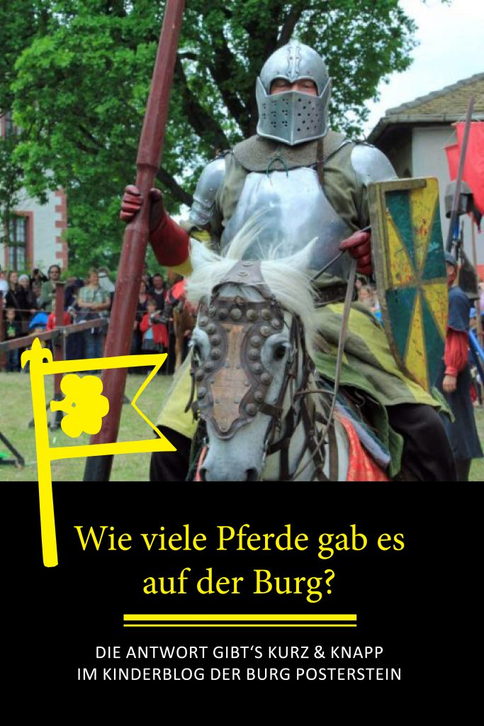Wie viele Pferde gab es auf der Burg? -Eine Frage, die im Kinderburg-Blog der Burg Posterstein beantwortet wird.