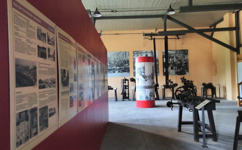 Ausstellung im Knopfmuseum Schmölln