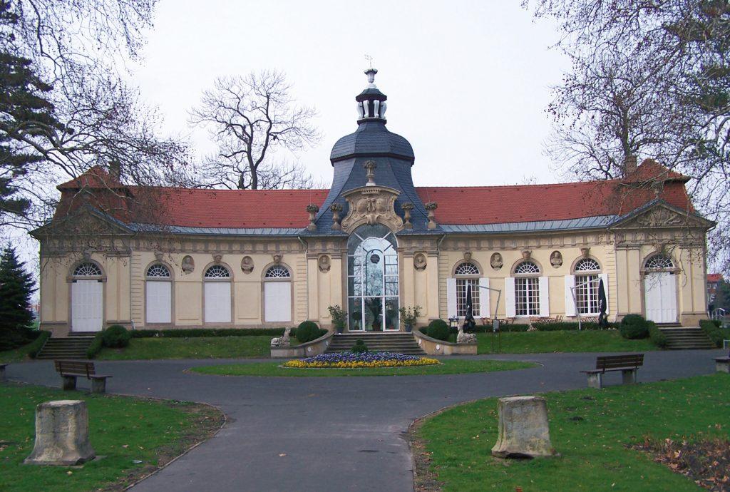 Die Orangerie in Meuselwitz (2007, Sammlung Museum Burg Posterstein)