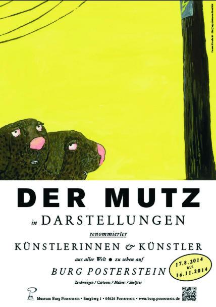 """""""Der Mutz in der Darstellung renommierter Illustratoren aus aller Welt"""" - Karikaturen und Zeichnungen"""