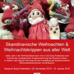 """""""Tomtenisse"""" and """"Yule goat"""": Christmas crib exhibition"""