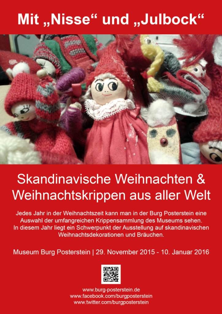 """Verlängert: Mit """"Nisse"""" und """"Julbock"""": Skandinavische Weihnachten und Weihnachtskrippen"""