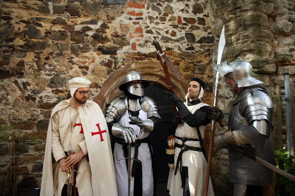 Die Ritterschaft von Hohenstein zu Gast auf Burg Posterstein