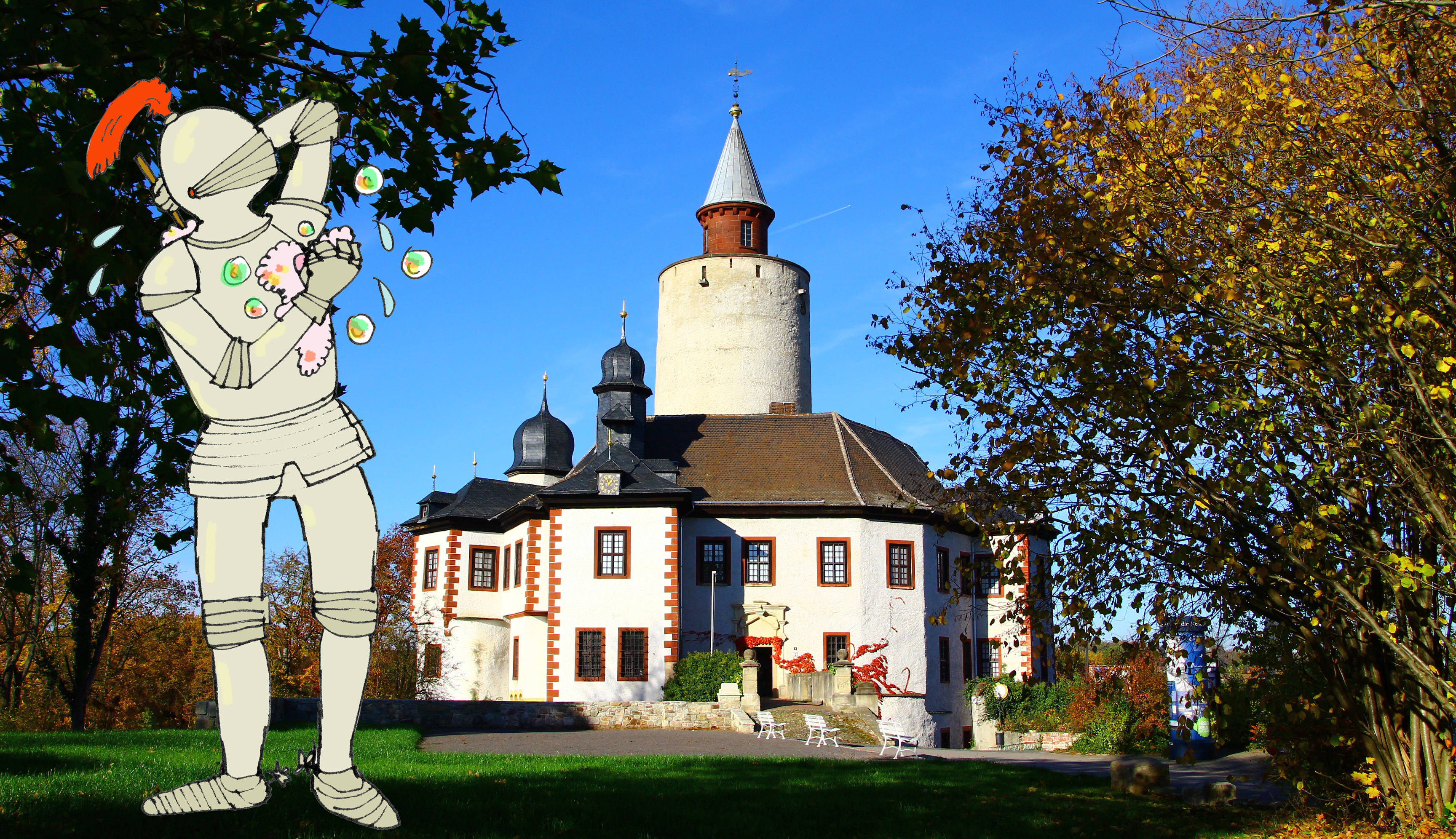 Abgestaubt: Badeten Ritter im Kettenhemd? – Sommerferien und mittelalterliche Spiele auf Burg Posterstein