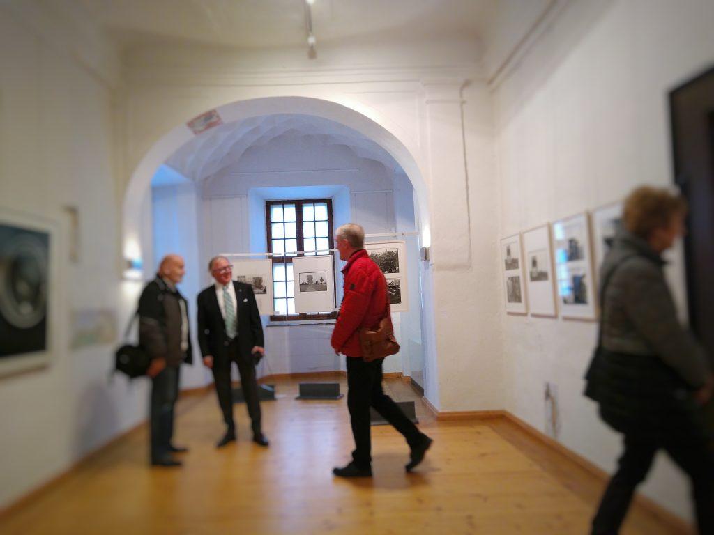 """In der Sonderausstellung """"Landschaft nach der Wismut"""" im Museum Burg Posterstein"""