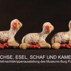Animaux de Noël: animaux dans les crèches du monde entier