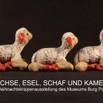 Banner digitale Weihnachtskrippen-Ausstellung Burg Posterstein