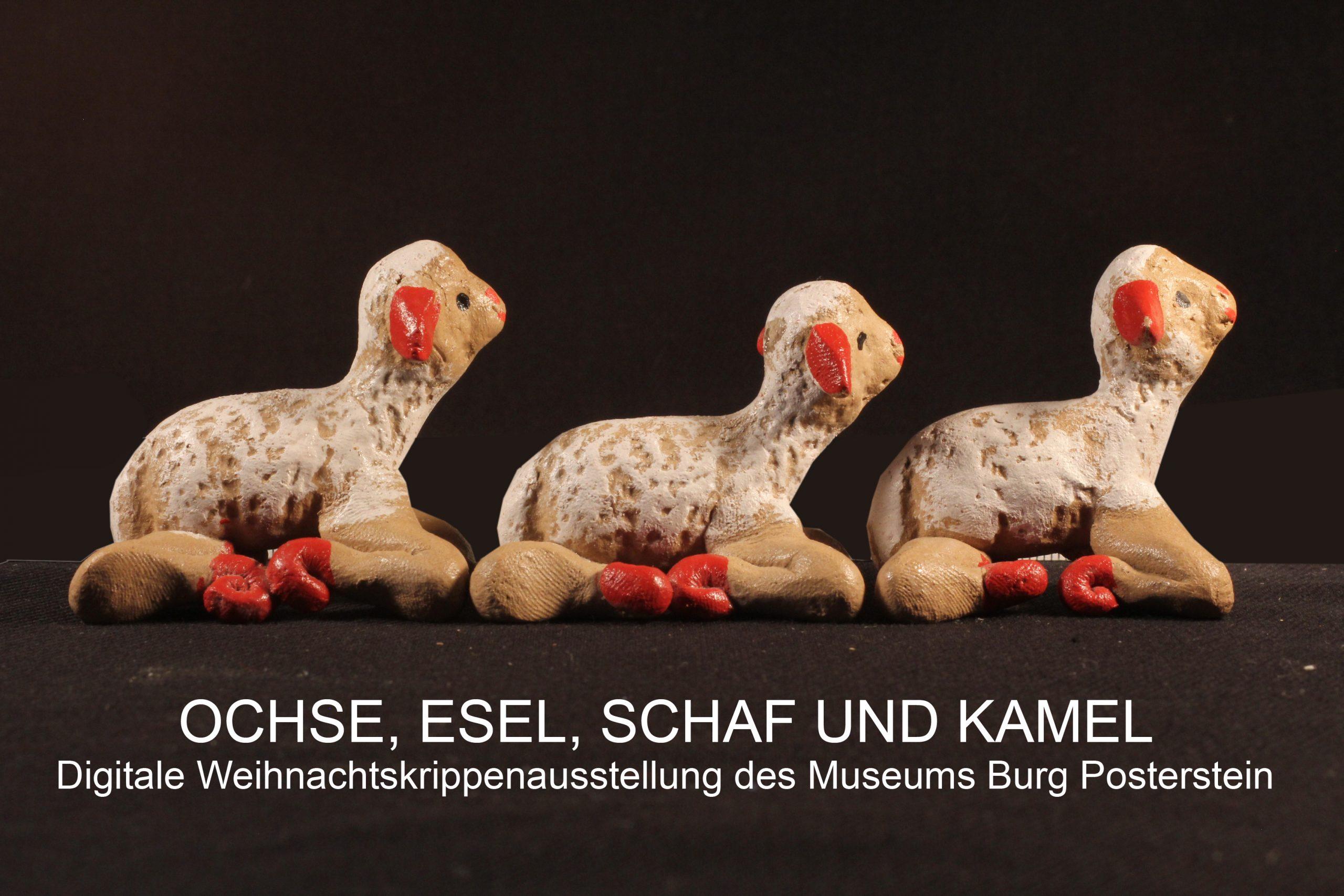 Ochse, Esel, Schaf und Kamel: Digitale Weihnachtskrippen-Ausstellung