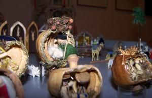 Weihnachtskrippen aus der Sammlung Riewe im Museum Burg Posterstein